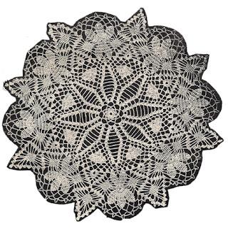 Martha Madison Pattern 1043, Princess Doily Pattern
