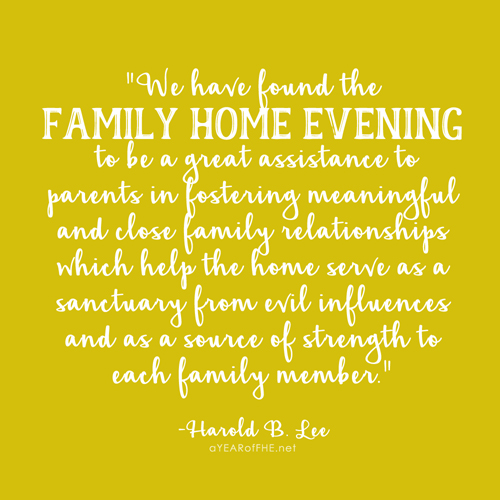 15 Inspiring Quotes about Family Home Evenings by A Year of FHE.net