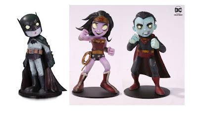 Hot Topic Exclusive DC Comics Artists Alley Zombie Variant Vinyl Figures by Chris Uminga x DC Collectibles – Batman, Superman & Wonder Woman