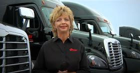Sherri Garner Brumbaugh, owner of Garner Trucking Inc
