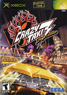 Crazy Taxi 3 High Roller Xbox free download full version