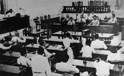 Persidangan resmi BPUPKI yang kedua pada tanggal 10 Juli-14 Juli 1945