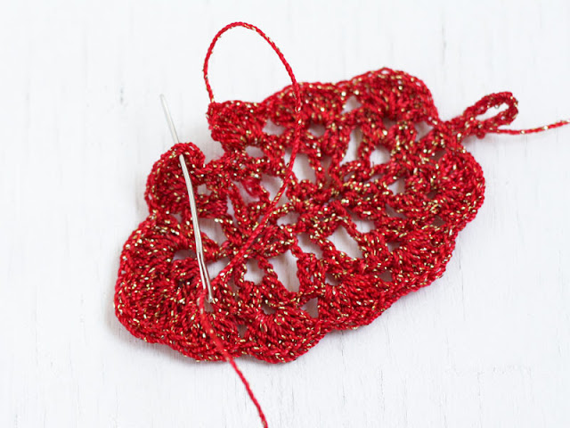 crochet earrings pattern free
