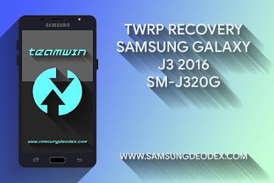 TWRP SAMSUNG J320G