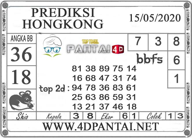 PREDIKSI TOGEL HONGKONG PANTAI4D 15 MEI 2020