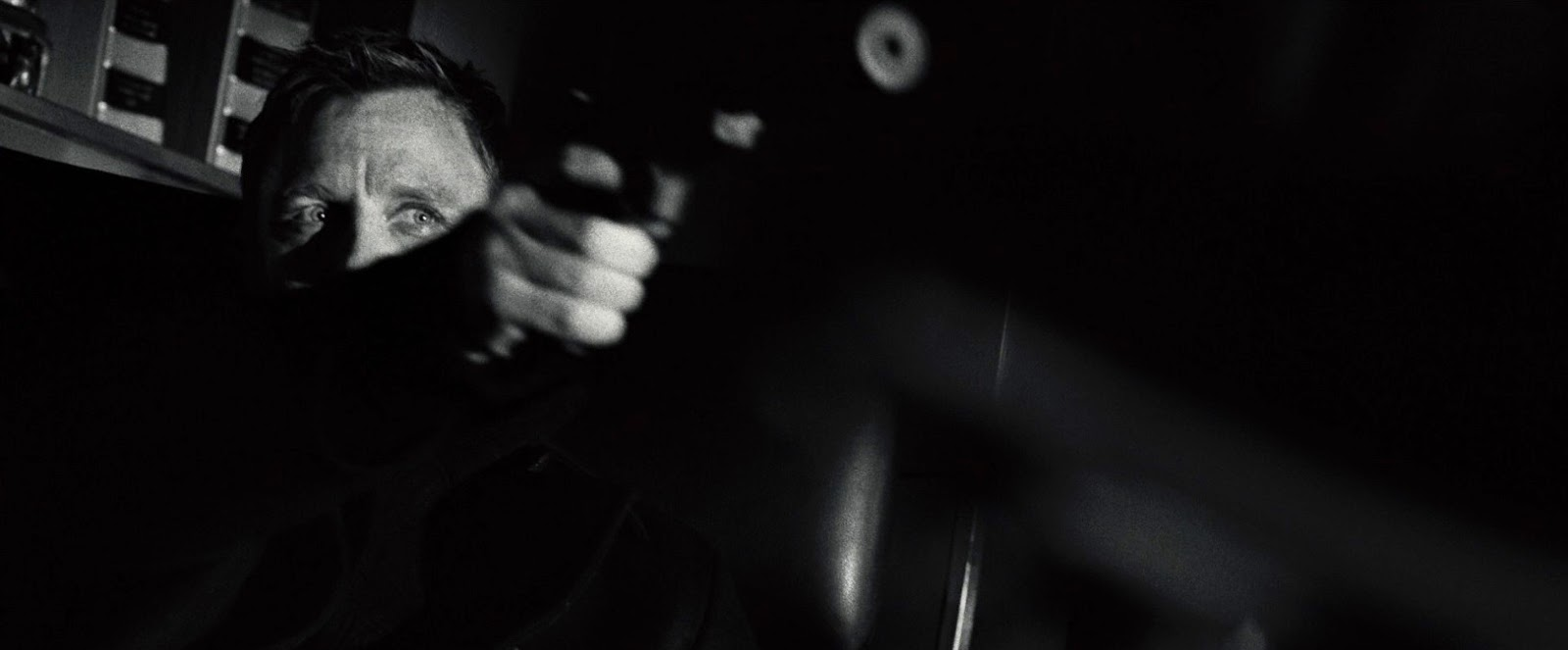 is casino royale in black and white