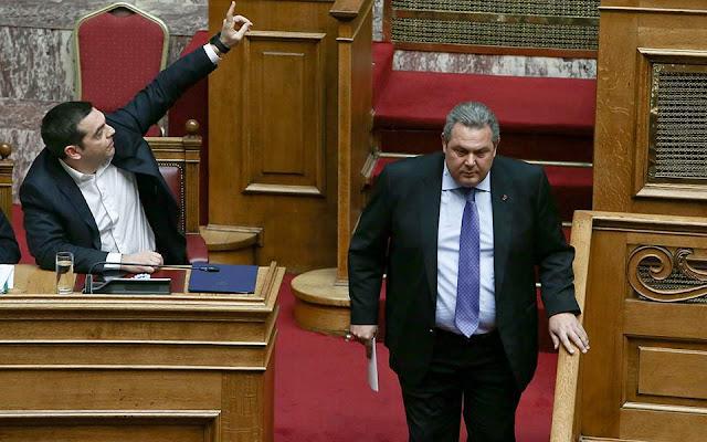 Τι αποκάλυψε η μονομαχία Τσίπρα - Καμμένου στη Βουλή