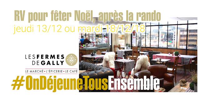 Réservation repas au Café GALLY