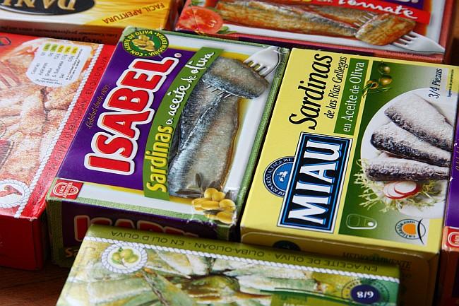 Aceite de las en nutritivas propiedades sardinas