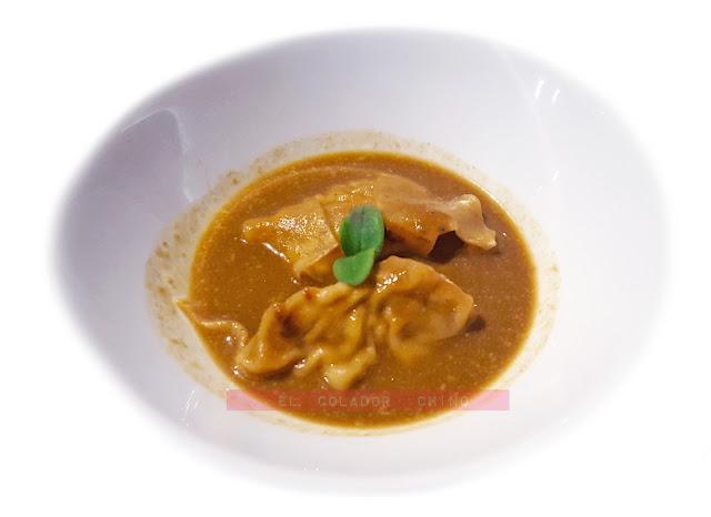 Restaurant Ona Nuit raviolis cigalas elcoladorchino