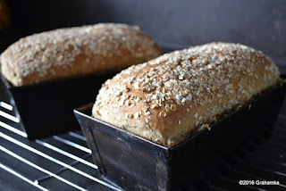 Chleb upieczony, w foremkach