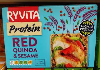 Ryvita Protein - Red Quinoa & Sesame