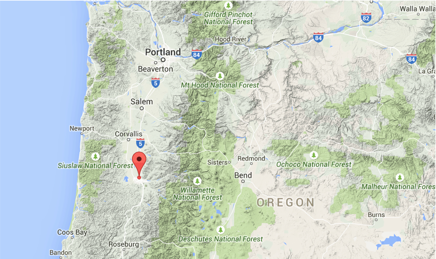 Sciency Thoughts Magnitude 3 4 Earthquake In Lane County Oregon