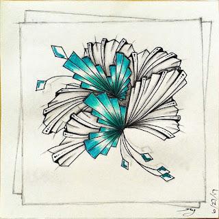 DIVA Challenge #322 with Patterns: Aquafleur, Nouvart