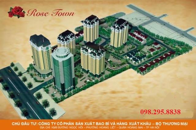 Quy hoạc tổng thể dự án Rose Town