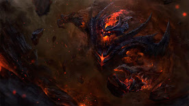 Shadow Fiend DOTA 2 Wallpaper, Fondo, Loading Screen