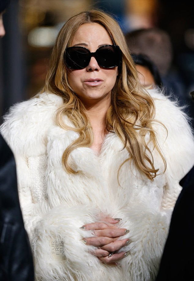 The beautiful Mariah Carey in New York