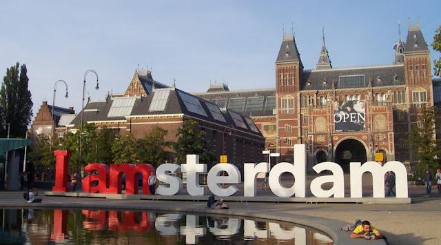 Tour pela Região das Praças dos Museus em Amsterdã