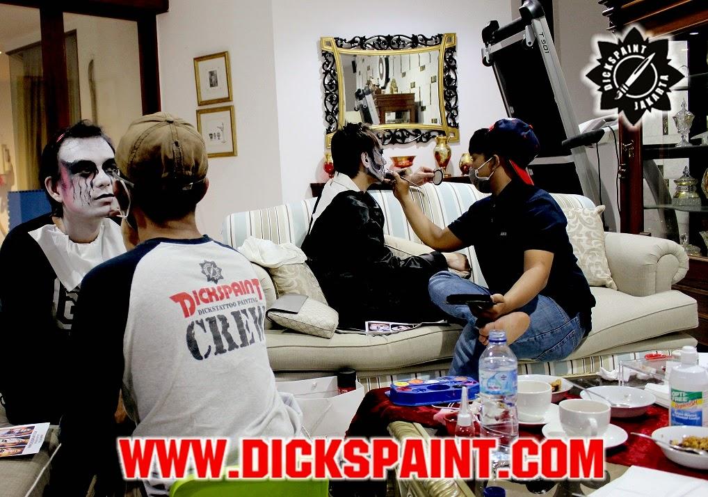 face painting jakarta horror
