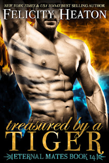 Treasured by a Tiger by Felicity Heaton