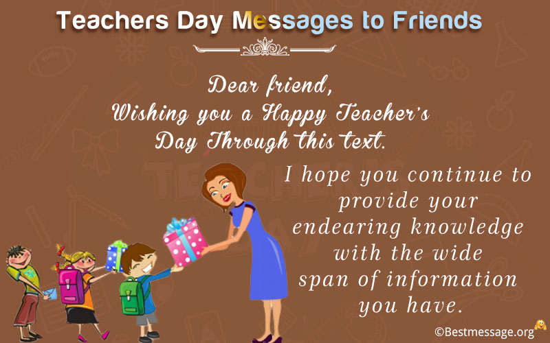teachers day messages Several businesses are offering up special discounts and deals for teachers and  school faculty in honor of national teachers day, which falls.