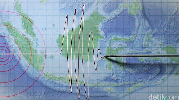 Lampung diGuncang Gempa 5,3 SR