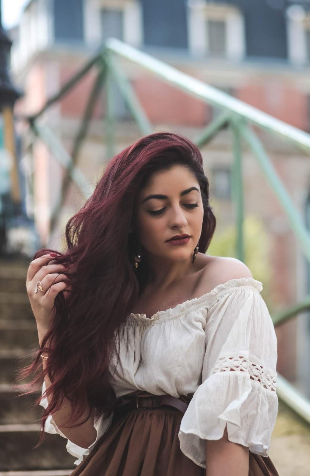 cheveux bouclés et volumineux blog