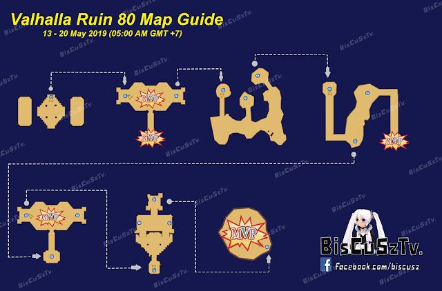 Map Valhalla Ruins 13 Mei Sampai 20 Mei 2019 Ragnarok Mobile Eternal Love