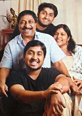Vineeth Sreenivasan family