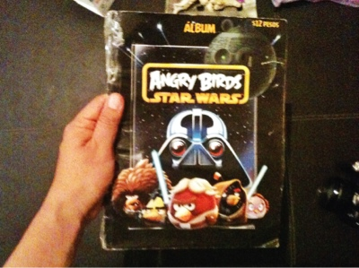 Álbum de estampas Angry Birds Star Wars