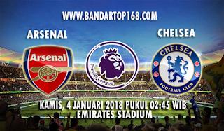 Prediksi Arsenal vs Chelsea 4 Januari 2018