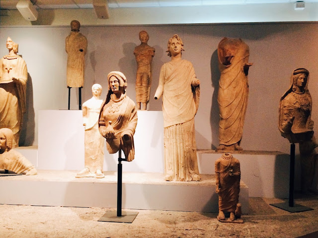 The mythical origins of Rome at the Lavinium archaeological museum