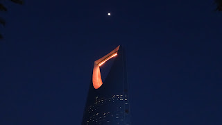 Its 302.3 m tall