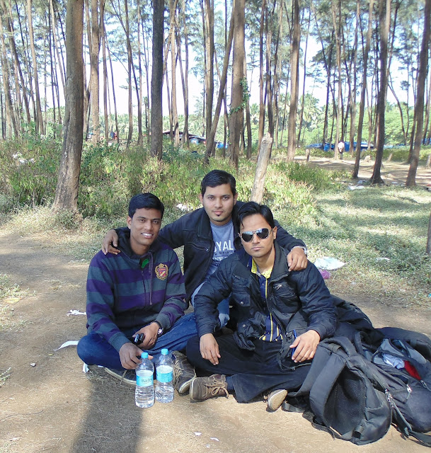 Weekend Winter Trip to Kashid Beach