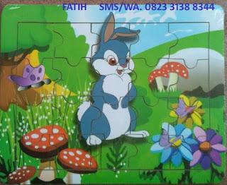 Mainan Anak Puzzle Kelinci