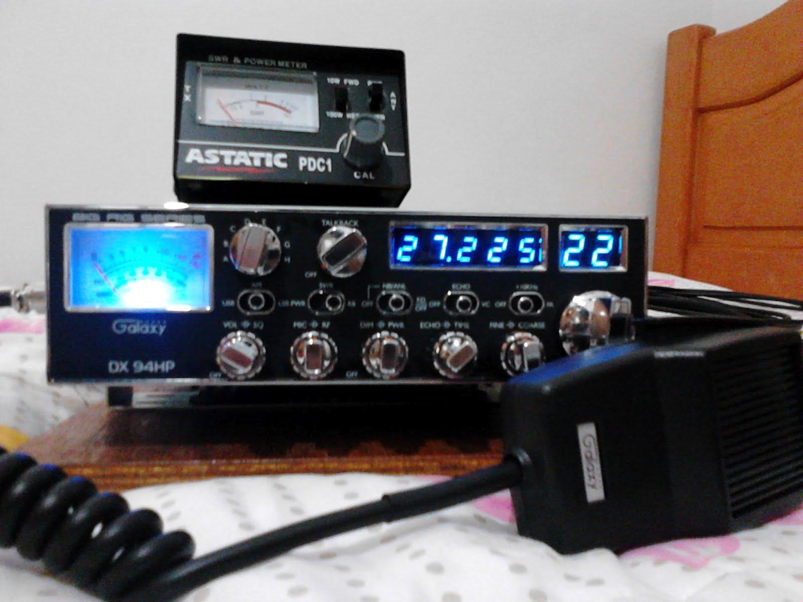 Galaxy dx94hp - Radio Px 10 e 12 metros   Sineir Marcos