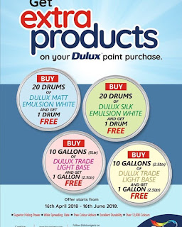 1779262272104109057_1575685429 Get free Drums of paint at Dulux Paint Nigeria 