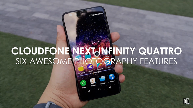 Six awesome photography features of Cloudfone Next Infinity Quattro