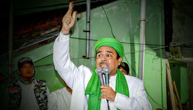 Rusuh Bakar Kelenteng di Tanjungbalai, Habib Rizieq Peringatkan Ahok