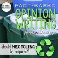 https://www.teacherspayteachers.com/Product/Fact-Based-Opinion-Writing-for-Earth-Day-Question-1-2467277