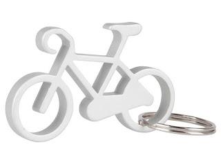 Regalos originales para ciclistas: Llavero abrebotellas bicicleta