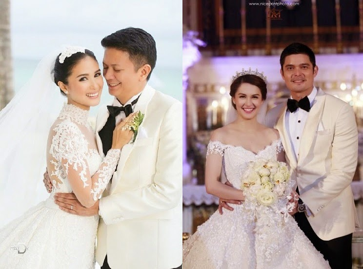 Heart Evangelista or Marian Rivera: Better Wedding Gown? (Poll ...