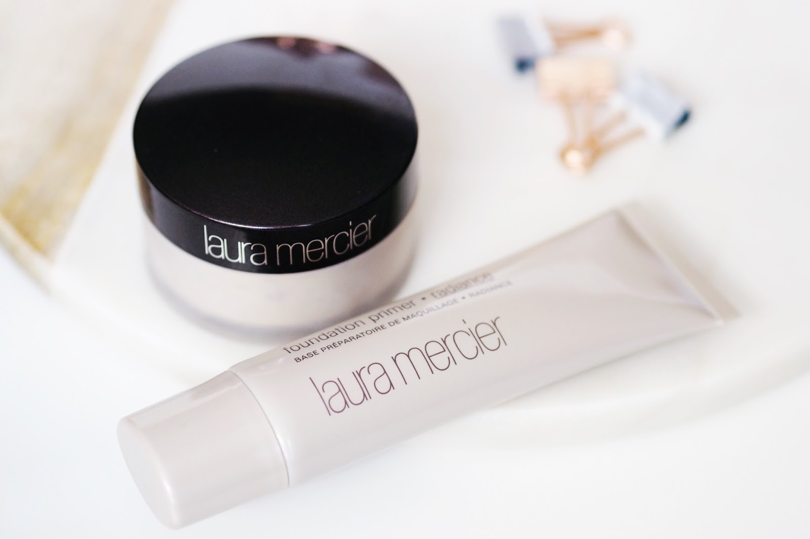 Laura Mercier setting powder radiance primer review