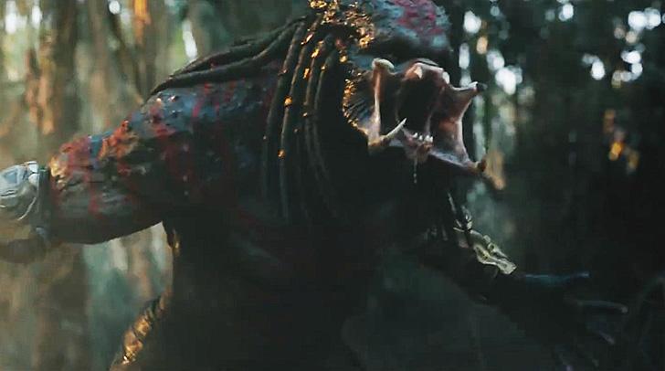 Resultado de imagem para O Predador: trailer final do reboot da franquia de terror