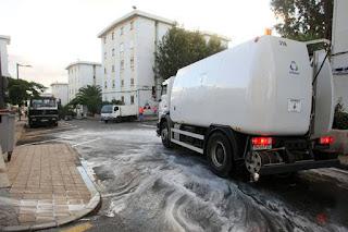 Limpieza y desinfectado de depositos de agua