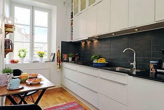 15 fotos de cocinas peque as colores en casa - Diseno cocina pequena ...