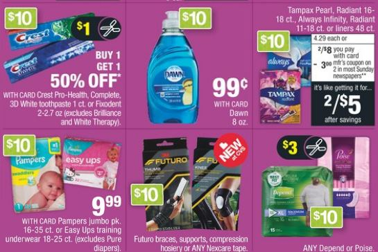 Pampers or Johnson's Baby Cash Card Deal - 3/31-4/6
