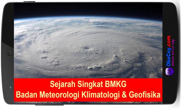 Sejarah Singkat BMKG Badan Meteorologi Klimatologi dan Geofisika