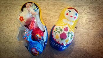 マトリョーシカのチョコレート
