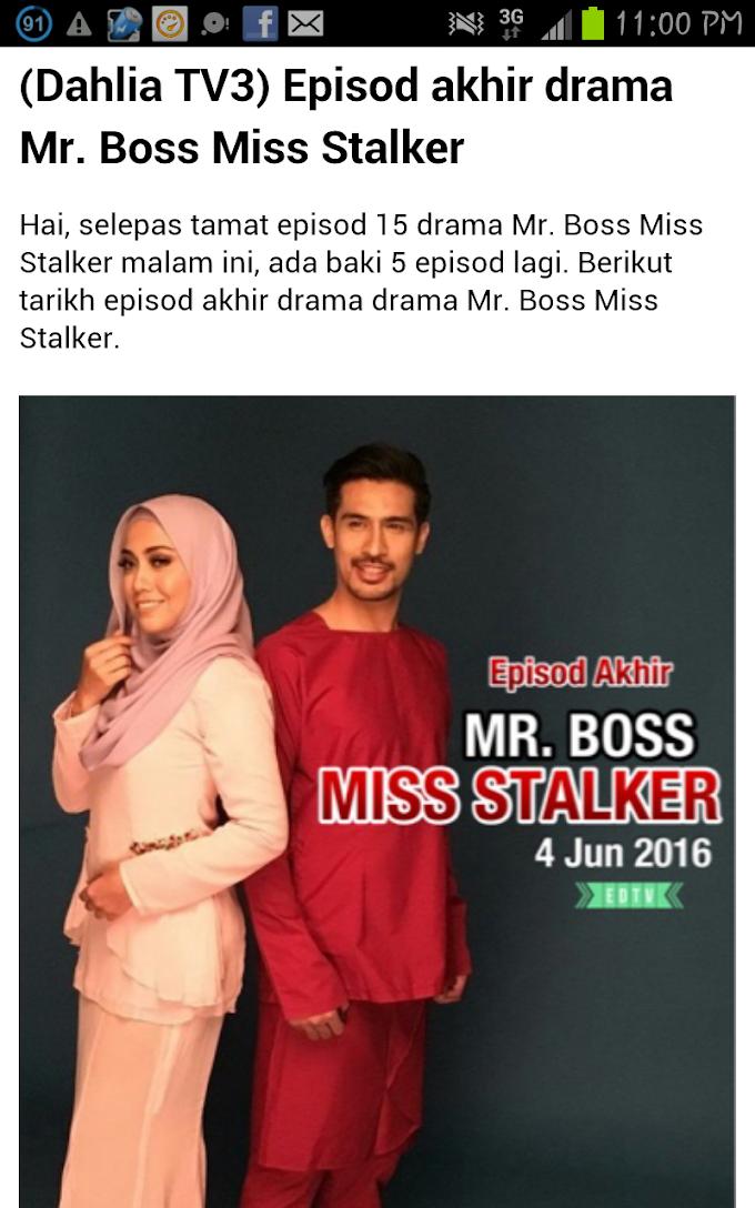 Episod 18 Mr Boss Miss Stalker